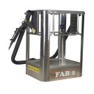 Aluminium personnel basket FAB 1 - VERSION ONLY FOR EXTRA CE COUNTRIES